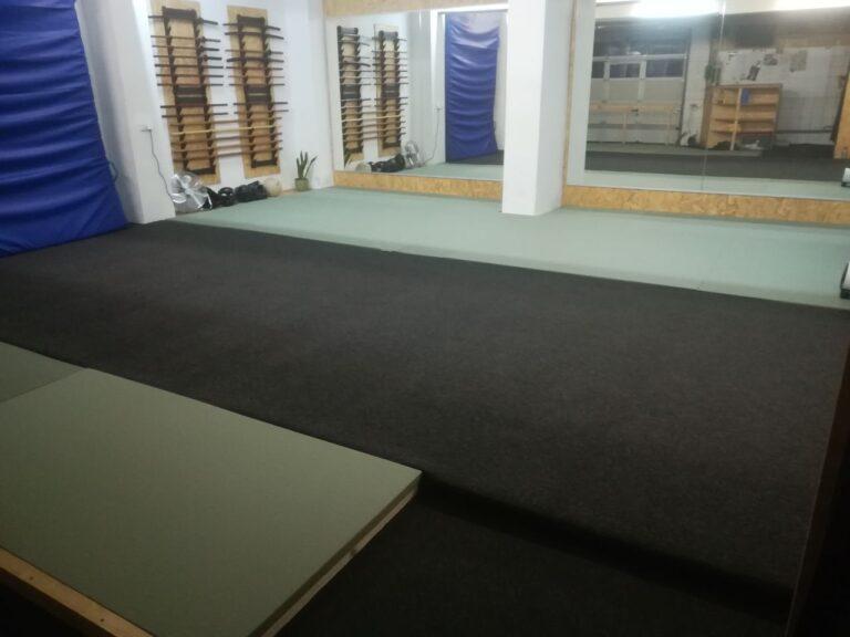 Der Trainingsraum